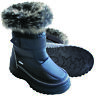 XTM Kisa Kids Winter Apres Snow Gum Boots Black Size 25-36