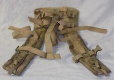 MOLLE II Rucksack Back Pack Shoulder Straps OEF Desert Camo USGI
