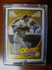 Stan Musial 2005 3000th Hit UD Baseball Heroes Game Used Pants Card 1/1