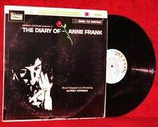 OST LP THE DIARY OF ANNE FRANK ALFRED NEWMAN 1959 20TH FOX VG++ / NM