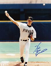 Pittsburgh Pirates KRIS BENSON signed autographed Piratefest 8x10 photo 2 proof
