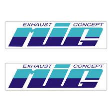 Stickers plastifiés MIG - 11,3cm x 3cm