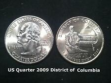 Us State Quarter 2009 District of Columbia (D)