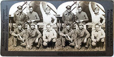 Keystone Stereoview of American Aviators & Plane 1924 from the 1920's 200 Set #A