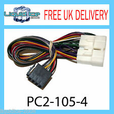 PC2-105-4 LEXUS IS200 CAR ACTIVE ISO HARNESS ADAPTOR WIRING LOOM LEAD