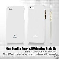 Genuine Mercury Goospery White Soft Jelly Case Cover for Apple iPhone 5/5s & SE