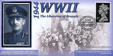 1942-2002 BENHAM SECONDA GUERRA MONDIALE 60th ANNIVERSARIO COVER-LIBERAZIONE DI BRUXELLES