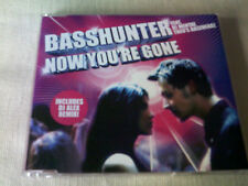 BASSHUNTER - NOW YOU'RE GONE - 2 MIX DANCE CD SINGLE