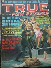 True Men Stories October 1968