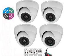 4 PCS 1080p Weatherproof IR Dome Security Camera For HDCVI DVR  2.8mm fixed lens