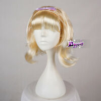 Bob Style 50s 60s 70s Ladies Flick Wig Blonde Beehive Wig Fancy Dress Party Hair