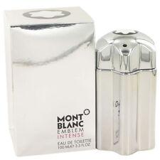 Emblem Intense By Mont Blanc 3.3 / 3.4 Oz EDT Spray NIB Sealed Cologne For Men