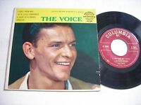 w PICTURE SLEEVE Frank Sinatra The Voice 1955 45rpm EP
