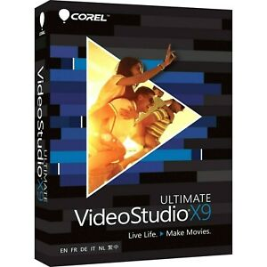 Corel VideoStudio X9 Ultimate   64bit 4K H.265 Win10   Videoschnitt / Edit  -neu