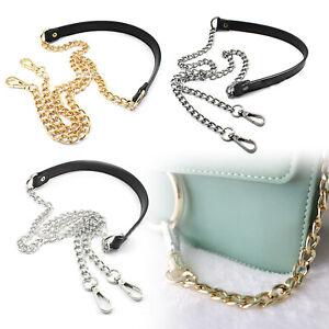 Metal Purse Chain Strap Replacement Handle For Shoulder Crossbody Bag Handbag