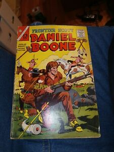 Frontier Scout Daniel Boone #14 1965-Charlton-variant cover-2nd printing-scarce!