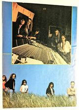 Queensryche / Geoff Tate / Band Magazine Full Page Pinup Poster Clipping (4)