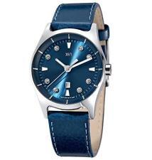 Runde polierte Armbanduhren mit Mineralglas-Funktion für Damen