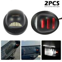 2pcs voiture LED plaque immatriculation lumière rouge néon Ford F150 2001-2014