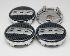 4x 60mm/56mm BBS Wheel Center Caps Emblem Cover Hub