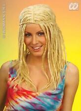 Mesdames Blonde Perruque Rasta Dreadlock dreadlocks Surf Hippie Hippy Déguisement