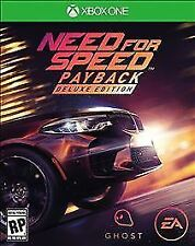 Need for Speed Payback: Deluxe Edition (Microsoft Xbox One, 2017)
