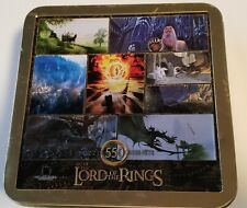 """ART OF THE LORD OF THE RINGS IN COLLECTIBLE TIN 550 PC. PUZZLE-COMPLETE 19"""" X19"""""""
