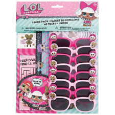 LOL Surprise Birthday Party Favour Bag Fillers - 48 Items Tattoos Glasses