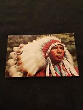 North American Native Indian - Old Postcard C16644g - Color by Mike Roberts