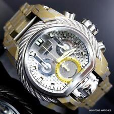 Invicta Reserve Bolt Zeus Magnum Hydroplated Steel 52mm Swiss Mvt Watch New