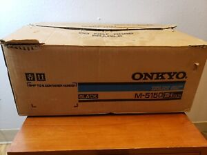 Onkyo M-5150 Stereo Power Amplifier- EXCELLENT!