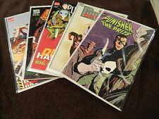 5 MARVEL Comics PUNISHER Prestige TPB's - The Prize, No Escape, Die Hard, +