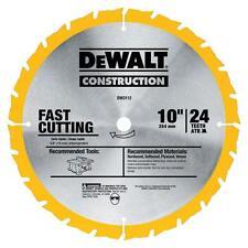 DEWALT DW3112 Series 20 10-Inch 24 Tooth ATB Thin Kerf Saw Blade 5/8-Inch Arbor