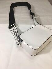 Atmosphere White Shoulder Bag Wide Strap