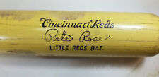 Cincinnati Reds Pete Rose Little Reds Bat Hillerich  & Bradsby  Yellow Canada