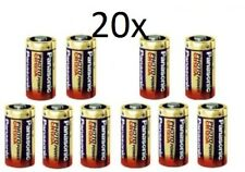 20 x Panasonic CR123A 3V Lithium Photo Battery 123 CR123 DL CR17345 Camera