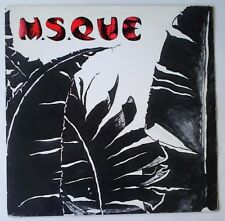 """M.S.Que - In The Face Of Mercy / Sylvia Scares Me 12"""" 45t NEW WAVE SPARKS 1983"""