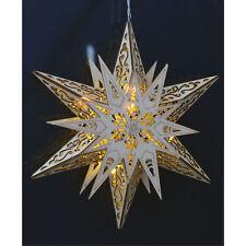 XXL LED Weihnachtsstern Fensterdekoration Holzstern Weihnachtsbeleuchtung Stern