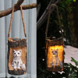 Solar Powered Light Waterproof Hanging Solar Lamp for Outdoor Garden Ornament
