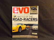 EVO MAGAZINE ISSUE 89 MARCH 2006. ROAD RACERS. JAGUAR XK. FOCUS ST AND GOLF GTI.