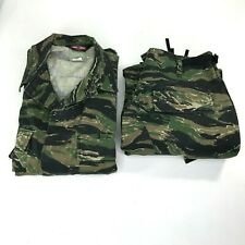 Tru Spec 2 Piece Camouflage Pants Shirt Size Medium Camo Tactical Wear Hunting