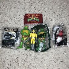 Vintage Power Rangers Trading Cards Figures TMNT Action Figures Playmates Lot