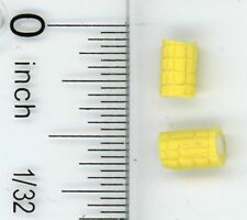 Dollhouse Miniature Set of 2 Corn Cobbettes by Bright deLights