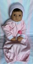 Lee Middleton Doll Small Wonder Brunette Brown Eyes Pink Gown/Cap/Bottle