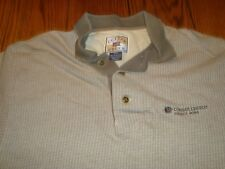 Consol Energy Bailey Mine (Coal Mining) Embroidered Brown/Tan S/S Polo - Size M