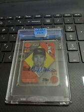 2020 Topps Clearly Authentic FLY OUT Mike Mussina Auto 16/50 !!!!!