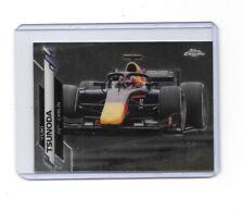 2020 Topps Chrome Formula 1 Rookie Card #82 Yuki Tsunoda