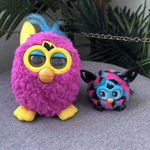 FURBY 'Boom' & 'Furbling' Bundle: SPARE PARTS - NOT WORKING Hasbro Talking Pet