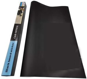 Chalkboard Contact Paper Roll Self-Adhesive Blackboard Sticker Wallpaper