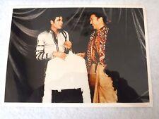 "MICHAEL JACKSON & KANSAI YAMAMOTO 7"" X 5"" PRINT-CIRCA 1990'S-EXCELLENT CONDITION"